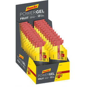 PowerBar PowerGel Fruit Box Red Fruit 24 x 41g